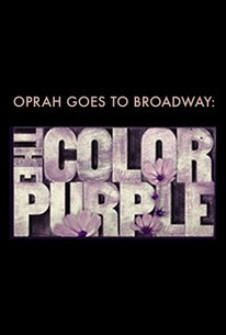 Oprah Goes to Broadway: The Color Purple