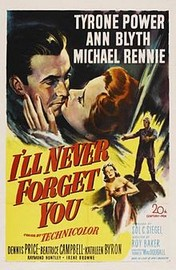I'll Never Forget You (The House in the Square) (Man of Two Worlds)
