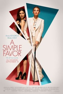 a simple favor 2018 rotten tomatoes