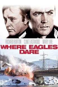 Poster for Where Eagles Dare (1969)