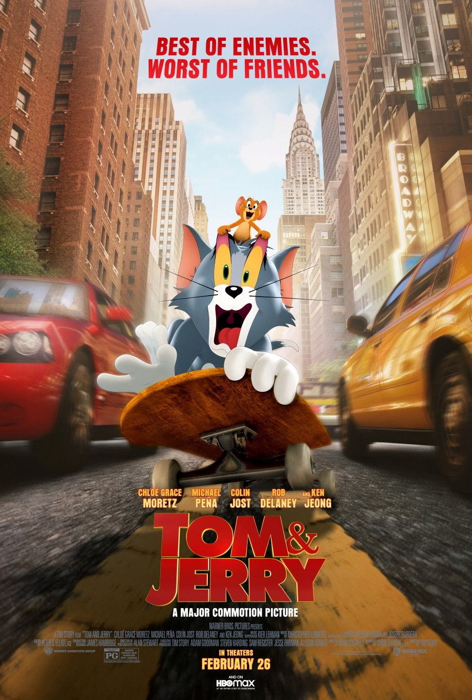 Tom & Jerry (2021) - Rotten Tomatoes