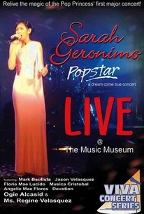 Sarah Geronimo: Popstar: Live at the Music Museum