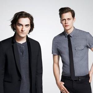 Landon Liboiron (left) and Bill Skarsgård