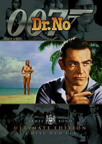 Dr. No DVD Cover.