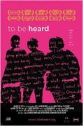 To Be Heard