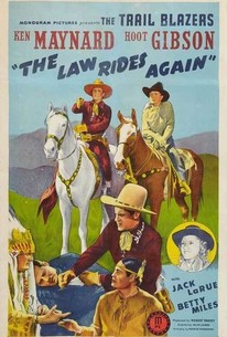 The Law Rides Again