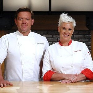 Tyler Florence and Anne Burrell