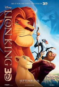 The Lion King (1994) - Rotten Tomatoes