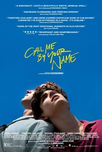 Call Me by Your Name (2018) - Rotten Tomatoes