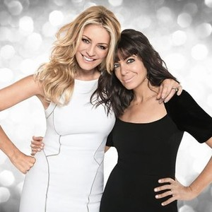 Tess Daly (left) and Claudia Winkleman