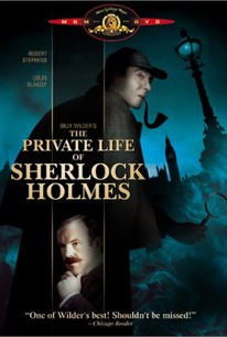 Poster for The Private Life of Sherlock Holmes (1970)