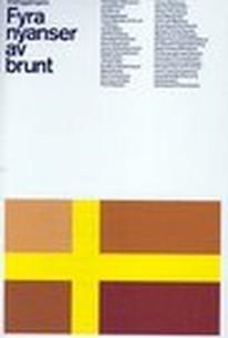 Fyra Nyanser av Brunt (Four Shades of Brown)