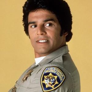 """Erik Estrada as Officer Frank """"Ponch"""" Poncherello"""
