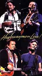 Highwaymen - Willie, Waylon, Cash & Kris - Live