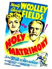 Holy Matrimony