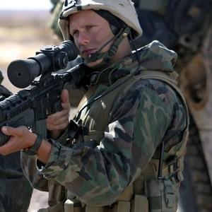 "Alexander Skarsgard as Sgt. Brad ""Iceman"" Colbert"