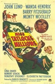 Miss Tatlock's Millions