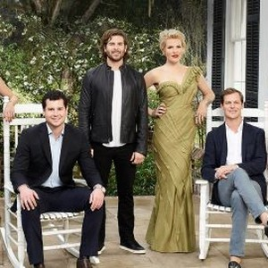 Catherine Cooper, Louis Oswald, Daniel Eichholz, Ashley Borders, Lyle Mackenzie and Hannah Pearson (from left)