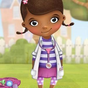 "Dottie ""Doc"" McStuffins is voiced by Kiara Muhammad"