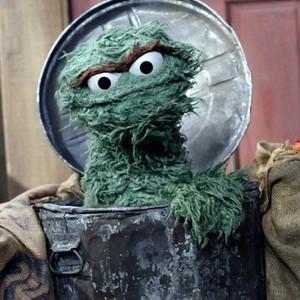 Oscar the Grouch is voiced by Caroll Spinney