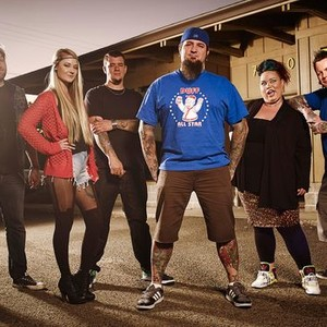 Josh Bodwell, Caroline Russell, Jeff Wortham, Chris 51, Heather Maranda and Chris Jones (from left)