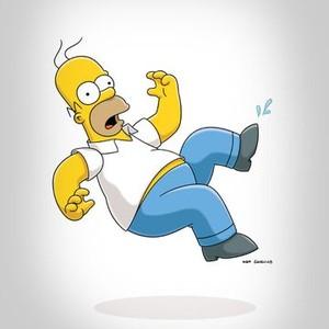 Homer J. Simpson is voiced by Dan Castellaneta