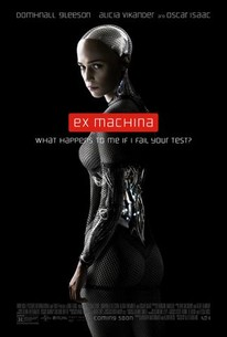 what did ex machina get on rotten tomatoes
