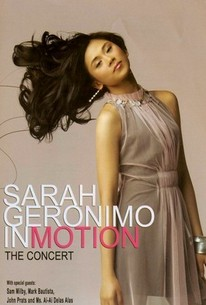 Sarah Geronimo in Motion