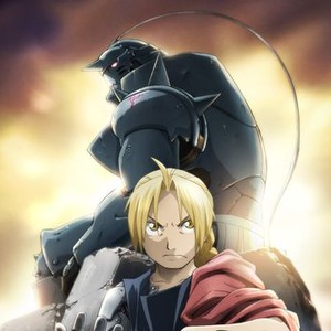 """Alphonse """"Al"""" Elric (top) and Edward Elric"""