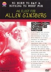 Allen Ginsberg: An Elegy