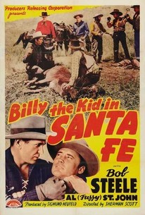 Billy the Kid in Santa Fe