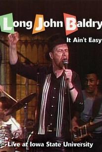 Long John Baldry: It Ain't Easy: Live at Iowa State University