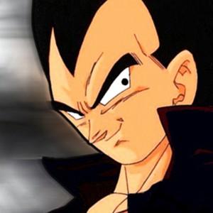 Vegeta is voiced by Brian Drummond