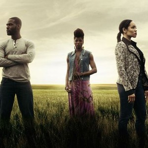 Kofi Siriboe, Rutina Wesley, and Dawn-Lyen Gardner (from left)