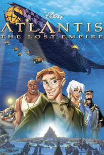 Atlantis The Lost Empire 2001 BluRay 720p 540MB ( Hindi – English ) ESubs MKV