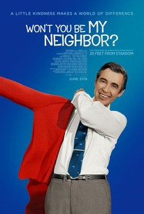 Movie poster: Won't You Be My Neighbor?