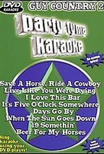 Party Tyme Karaoke - Guy Country 2