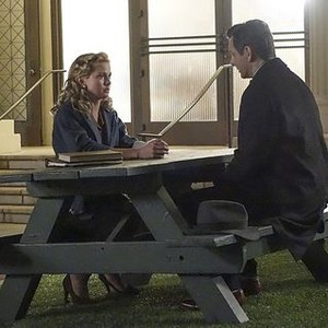 Masters of Sex (season 2, episode 2): Rose McIver as Vivian Scully and Michael Sheen as Dr. William Masters