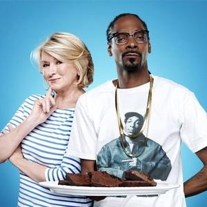 Martha Stewart (left) and Snoop Dogg