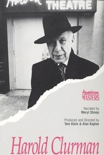 Harold Clurman: A Life of Theatre