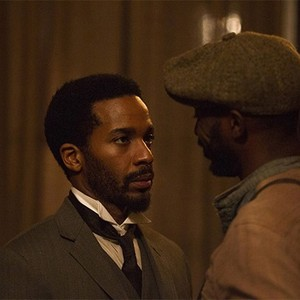 Andre Holland and Rob Morgan in season one of <em>The Knick</em>.