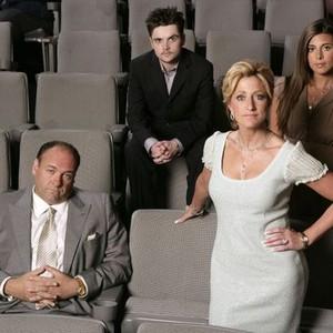 James Gandolfini, Robert Iler, Edie Falco and Jamie-Lynn Sigler (from left)