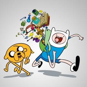 Jake (left) and Finn