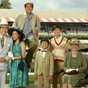 Randall Park, Constance Wu, Hudson Yang, Ian Chen, Forrest Wheeler and Lucille Soong (from left)
