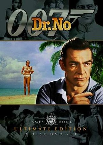 Dr. No DVD Cover.