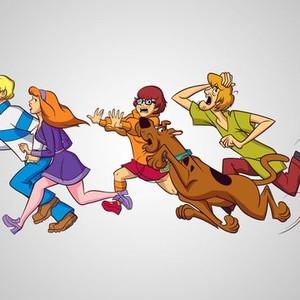 "Fred ""Freddy"" Jones, Daphne Blake, Velma Dinkley, Scoobert ""Scooby"" Doo and Norville ""Shaggy"" Rogers (from left)"
