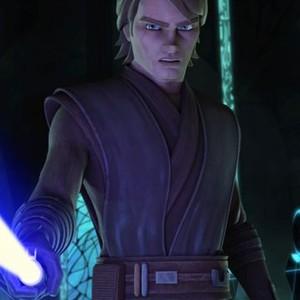 Anakin Skywalker is voiced by Matt Lanter