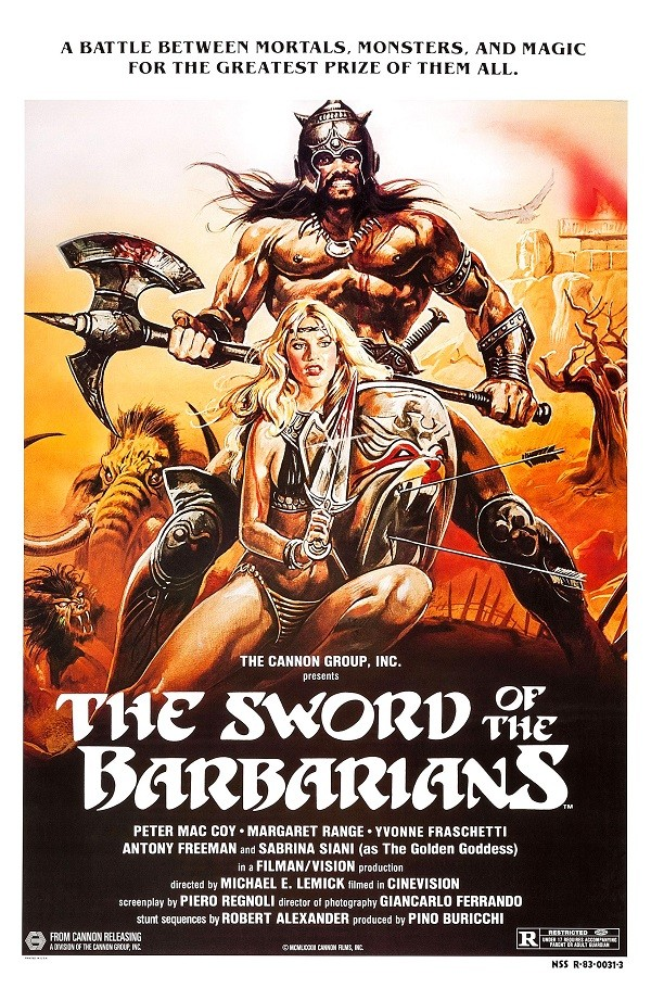 The Sword of the Barbarians (Sangraal, la spada di fuoco)