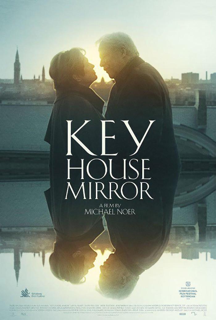 Key House Mirror (Nøgle hus spejl)