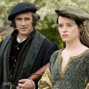 Mark Rylance and Claire Foy